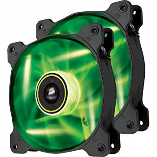4 VENTILATEURS 120 MM CORSAIR LED VERT
