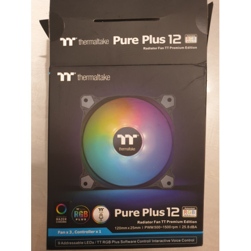 3 ventilo thermaltake pure plus 12