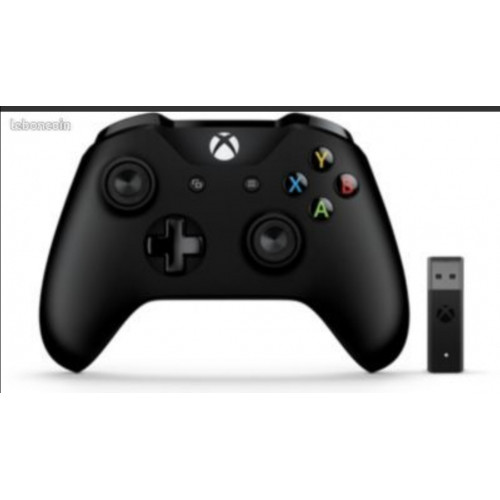 Manette Xbox ONE + adaptateur Windows 10